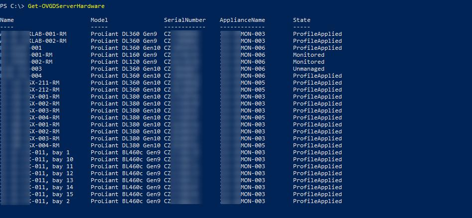 List Server Hardware