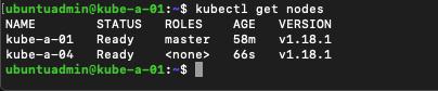 Verify new node has been added