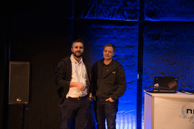 Martin Ehrnst and Rudi Martinsen at NIC 2018