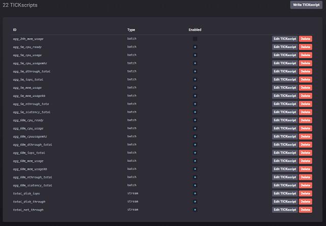 TICK script overview