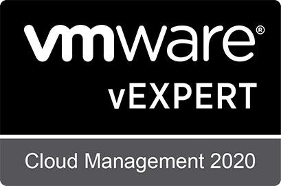 vExpert Cloud Management badge