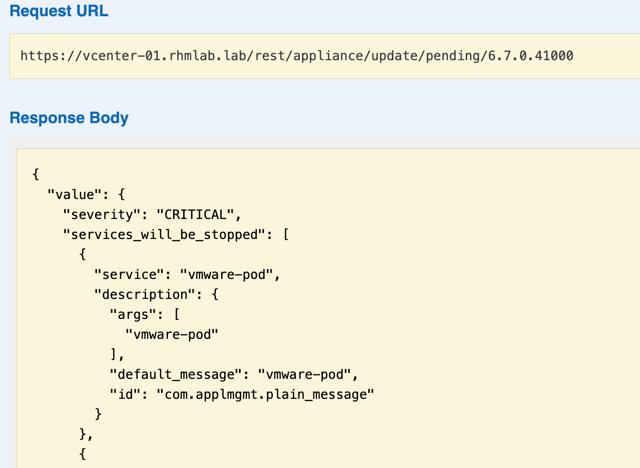 API specifying version