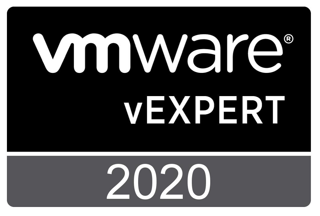 vExpert 2020 badge