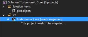 Visual Studio error
